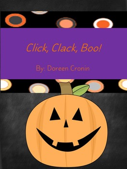Click, Clack, Boo Halloween Picture Book Extensions