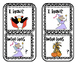 Click Clack Boo   I Have / Who Has Game Cards Sight Words/