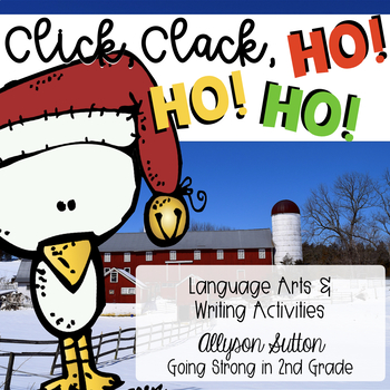 Click Clack Ho! Ho! Ho! Writing & Language Arts Craftivity
