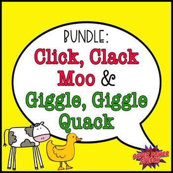 Click, Clack, Moo And Giggle, Giggle Quack (Speech/Languag