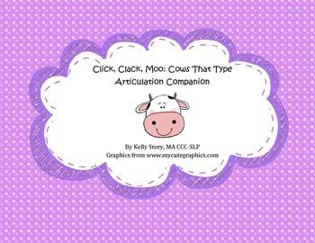 Click, Clack, Moo: Articulation Companion