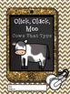 Click, Clack, Moo: Cows That Type Printable Activity Booklet