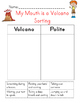 My Mouth is a Volcano! Activity Set