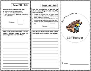 Cliff Hanger - 4th Grade Reading Street