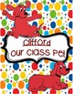 "Clifford The Big Red Dog ""Class Pet"" and Star Student Posters"