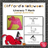 """Literacy and Math Center Activities based on the book, """"Cl"""