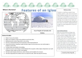 Climate Dwelling - Igloo Assessment