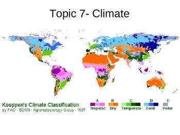 Climate Unit Notes ppt