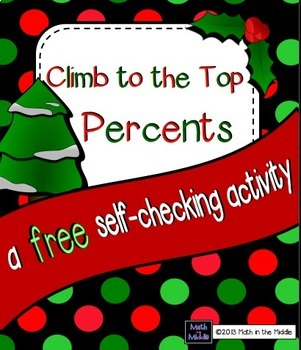 Climb to the Top Percents FREEBIE