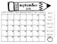Clip Chart Calendar