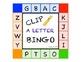 Clip A Letter Bingo