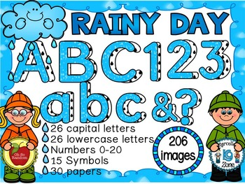 Clip Art Alpha | Rainy Day