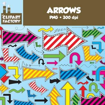 Clip Art: Assorted Arrows