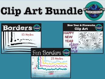 Clip Art Bundle Preview