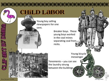 Clip Art - Child Labor