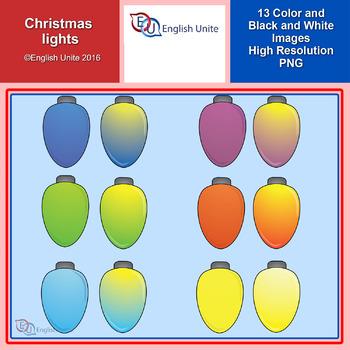 Clip Art - Christmas Lights