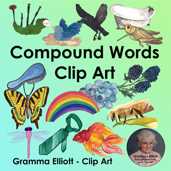 Clip Art - Realistic - Compound Words
