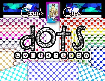 Clip Art~  DOTS Paper Collection (Polka Dots)
