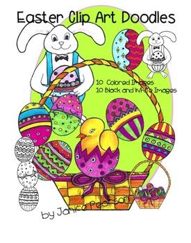 Clip Art Doodles  for Easter