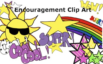 Clip Art Encouragement- Stars