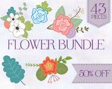 Clip Art Flowers Bundle