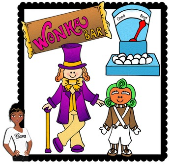 Clip Art ~ Free Willy Wonka Mini-Set