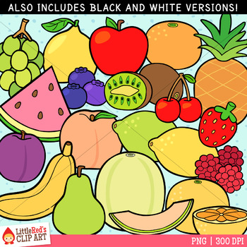 Fruit Foods Clip Art