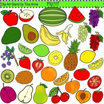Clip Art Fruit