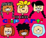Clip Art Fun Faces