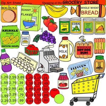 Clip Art Grocery Store