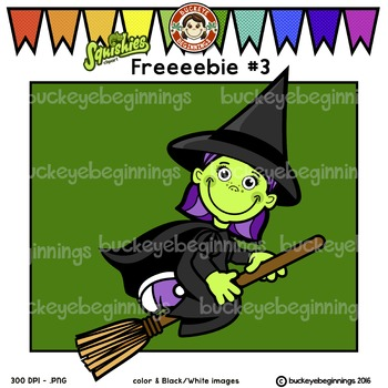 Clip Art Halloween Kid - FREE! Adorable Squishies