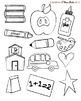 Clip Art: I Love School Craft Set (Personal and TpT Commer