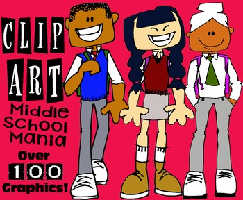 Clip Art Middle School Mania