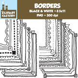 Clip Art: Page Borders - 20 Fun decorative borders