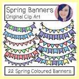 Clip Art: Spring Banners