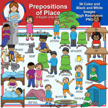Clip Art - Prepositions