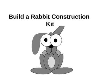 Clip Art Rabbit Drawing Kit / Instructions
