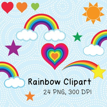 Clip Art - Rainbow Theme for Sellers