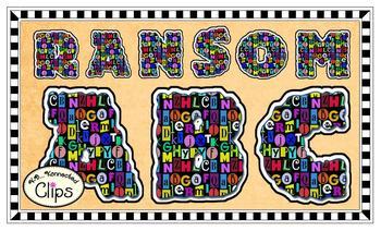 Clip Art - Ransom Alphabet
