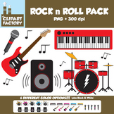 Clip Art: Rock n Roll Fun - Misc