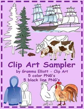 Clip Art Sampler Freebie