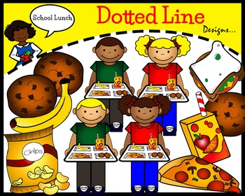 Lunch Clip Art: School Lunch