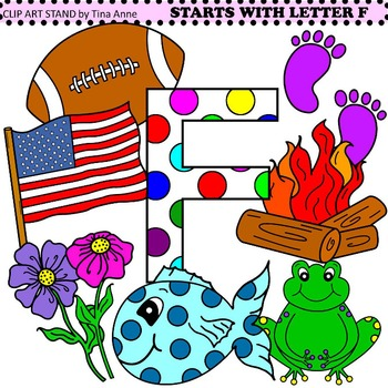 Clip Art Starts With Letter F