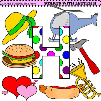 Clip Art Starts With Letter H