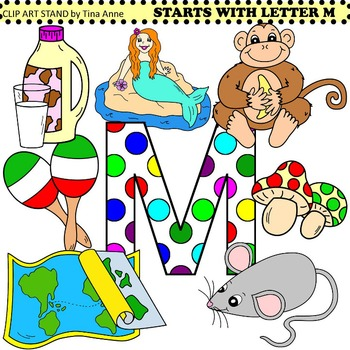 Clip Art Starts With Letter M