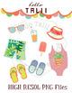 Clip Art: Summer Party
