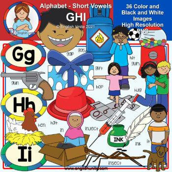 Clip Art - The Alphabet (GHI)