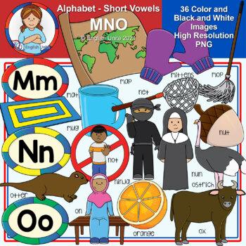 Clip Art - The Alphabet (MNO)