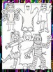Clip Art~ Halloween Fun Trick-or-Treat