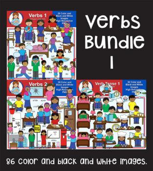 Clip Art - Verbs Bundle